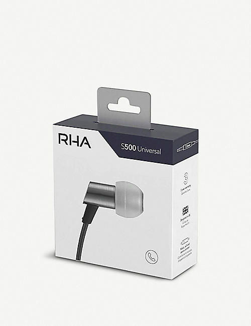 RHA S500 Universal In-Ear Headphones