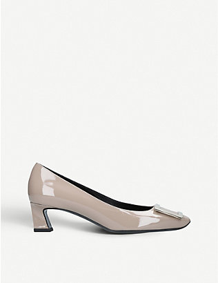 ROGER VIVIER: Trompette patent leather courts