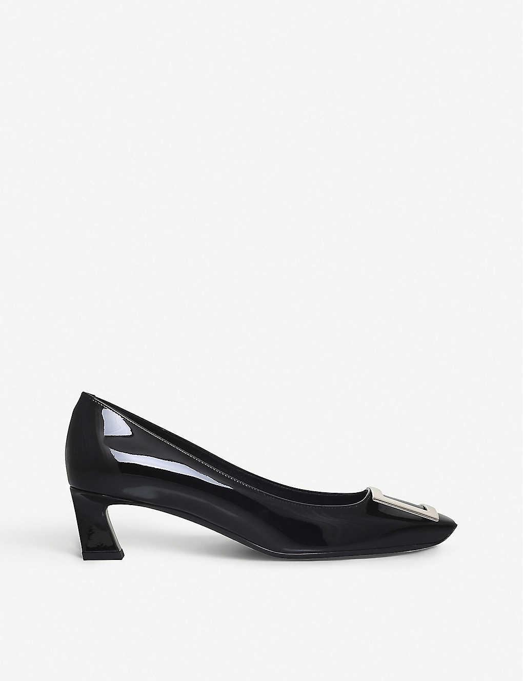 Belle Vivier leather high heels(5737614)