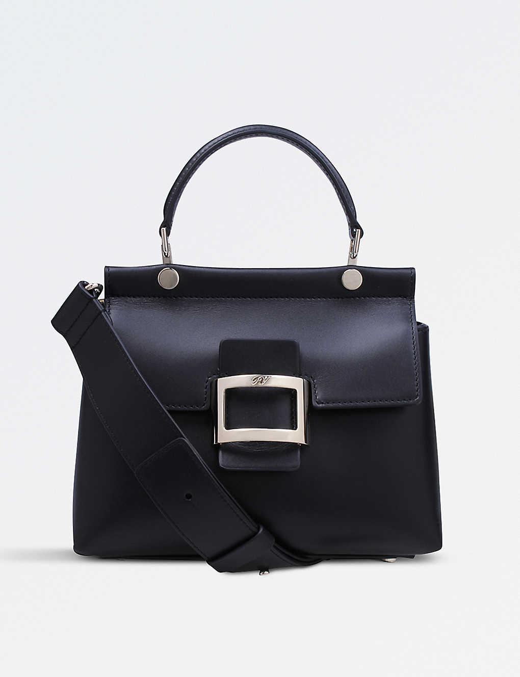 d20b6a8ab65 ROGER VIVIER - Viv' Cabas Leather Mini Shoulder Bag | Selfridges.com