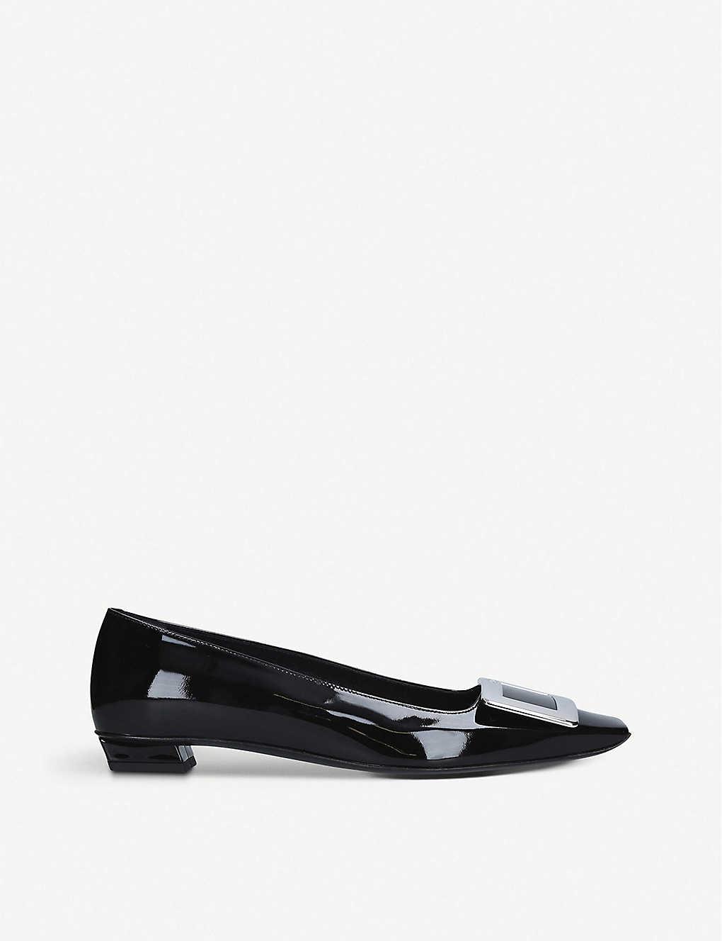 Belle Vivier patent-leather ballerina flats(2813165)