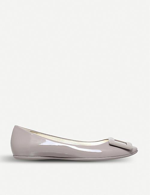 4322a0c18ecf ROGER VIVIER - Gommette slip-on patent-leather ballet flats ...