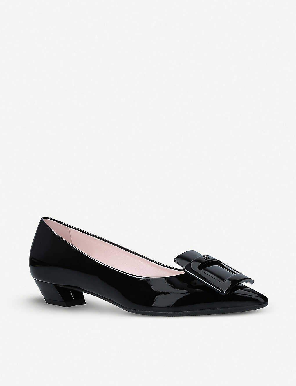 ROGER VIVIER: Gommette Ball patent-leather courts