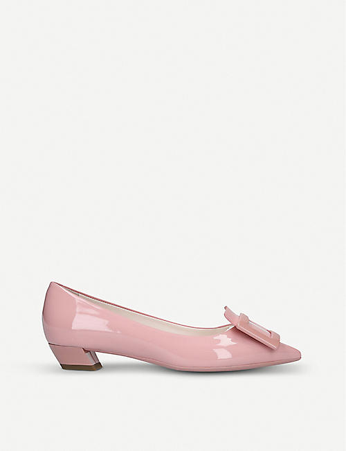 31786a62d ROGER VIVIER Gomette buckle patent leather courts