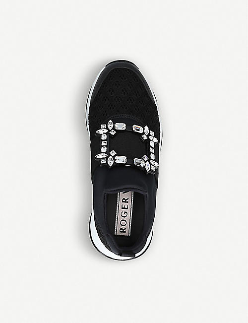 ROGER VIVIER Viv' Run Strass Buckle trainers