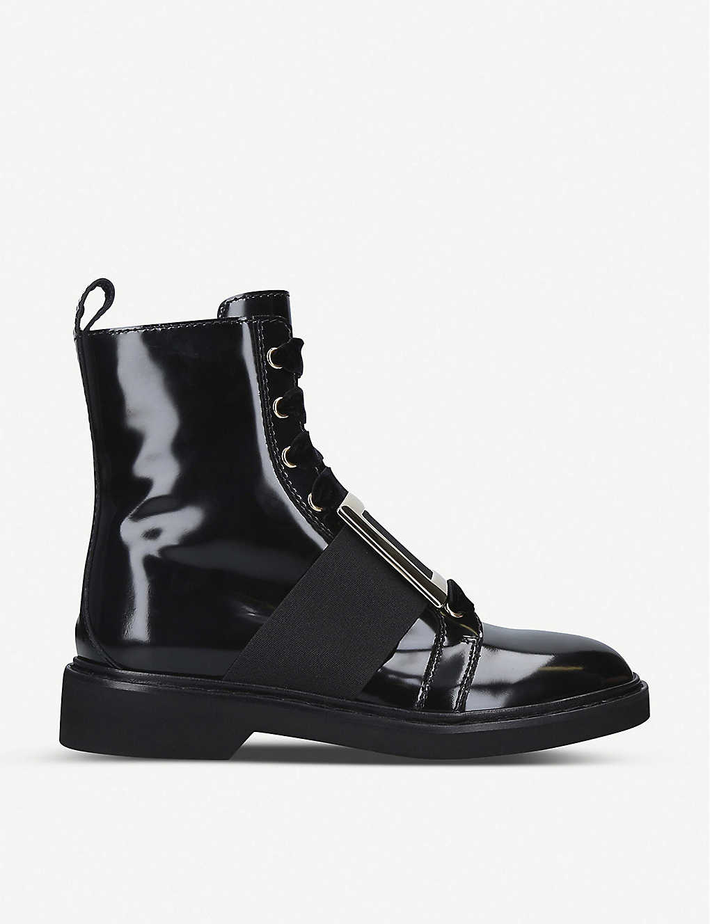 Viv Rangers patent-leather ankle boots(8167363)