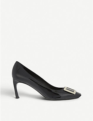 ROGER VIVIER: Belle Vivier patent leather courts