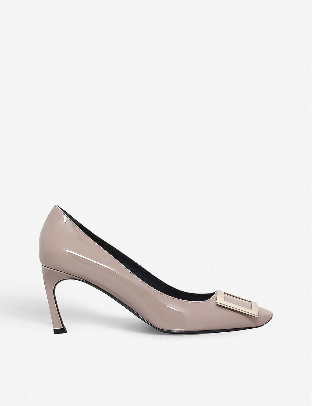 06d33f3d01c ROGER VIVIER - Belle Vivier Trompette patent-leather courts ...
