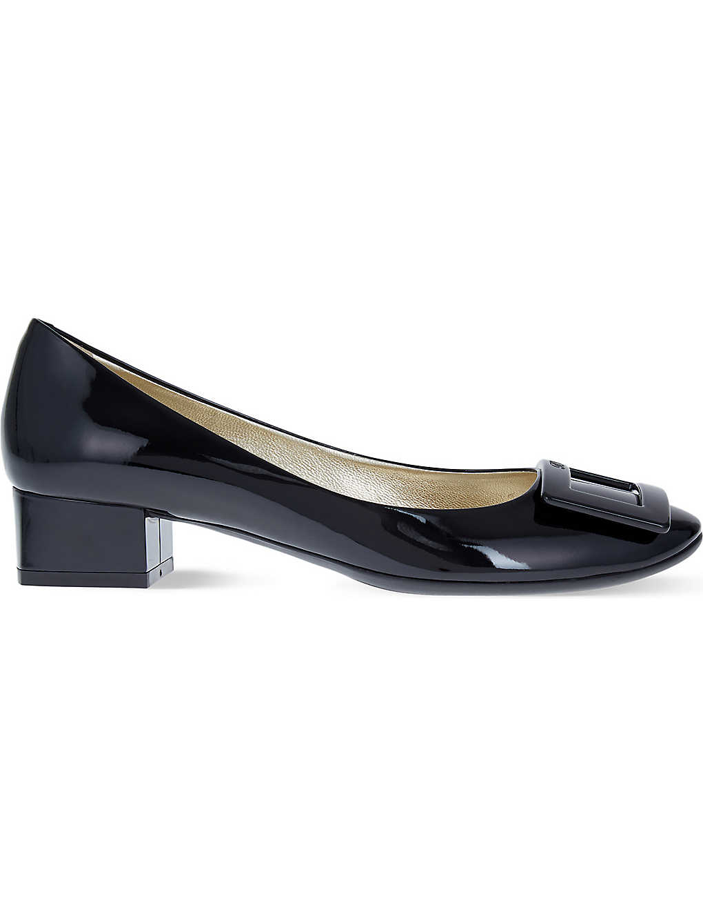 a8e90444bc ROGER VIVIER - Belle de Nuit patent-leather courts | Selfridges.com