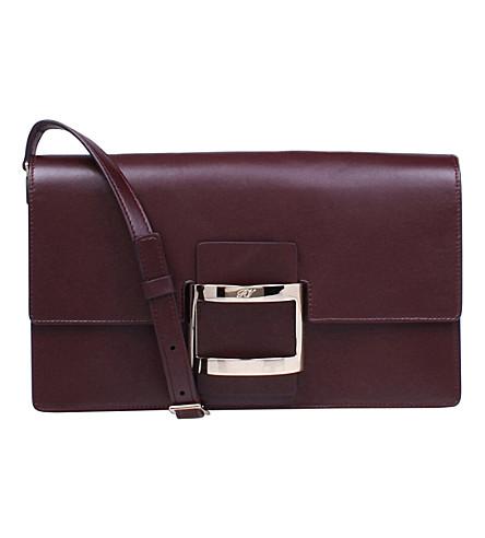 aa205393b81 ROGER VIVIER - Mini Viv' East West leather bag | Selfridges.com