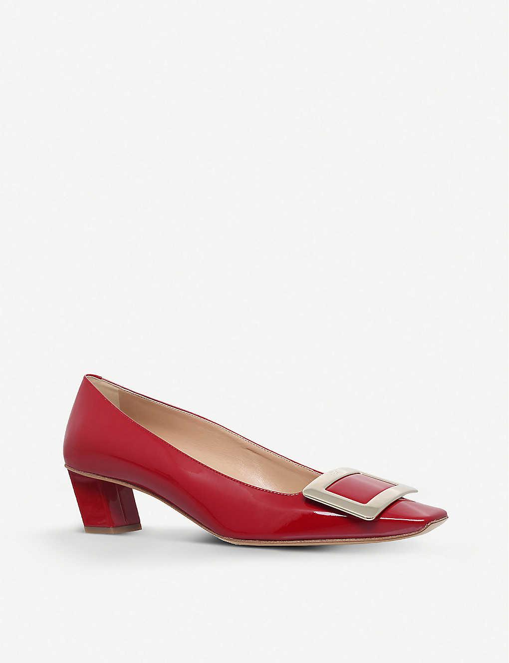 Décolleté T45 patent-leather court shoes(2813760)