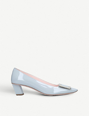 ROGER VIVIER Dec Belle patent-leather courts