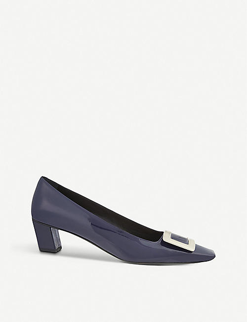 ROGER VIVIER: Belle Vivier patent-leather courts