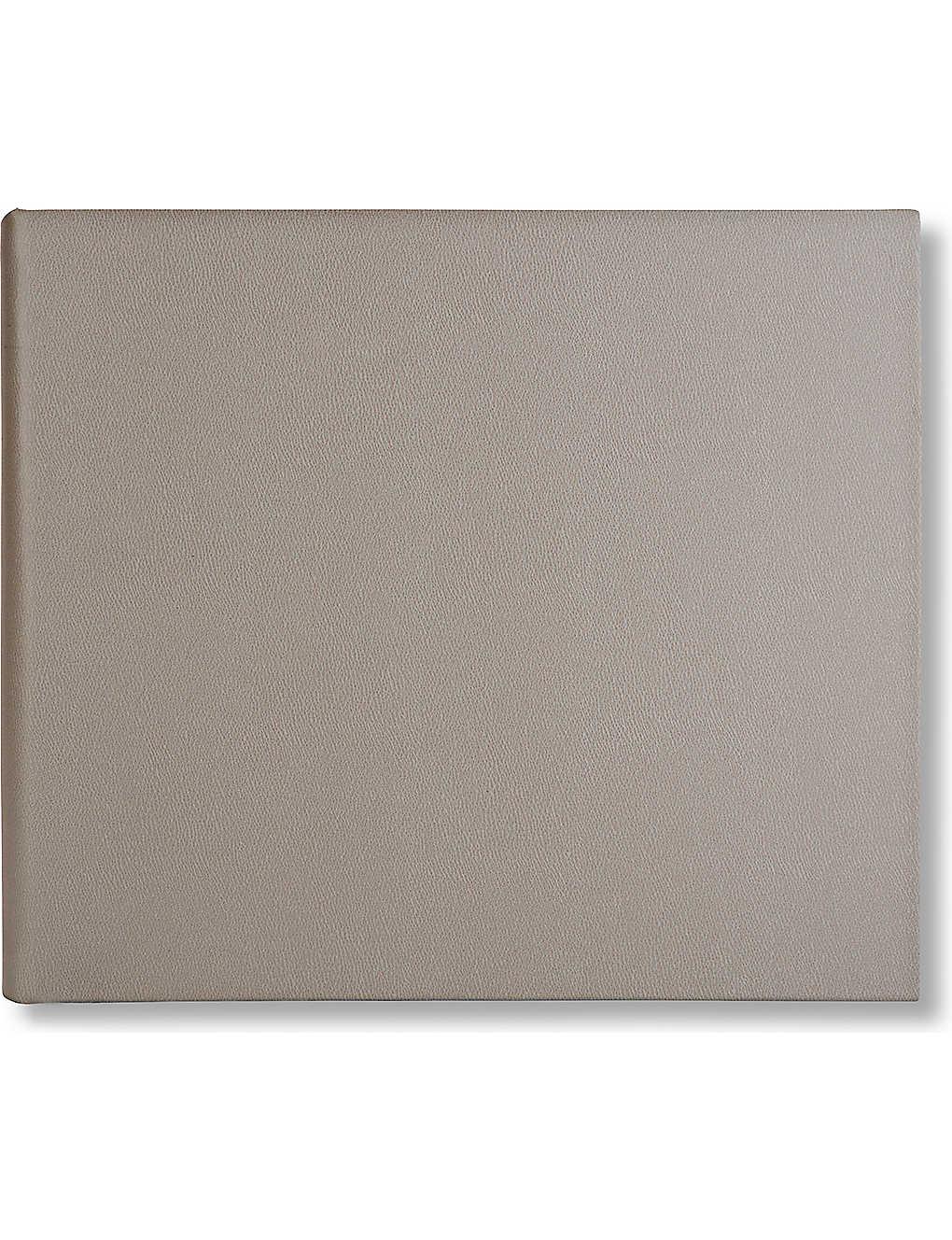 05305049f5 SMYTHSON - Large leather guest book | Selfridges.com