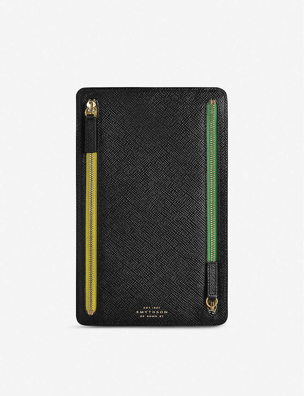 SMYTHSON: Panama leather currency case