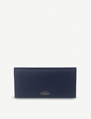SMYTHSON Panama slim leather wallet