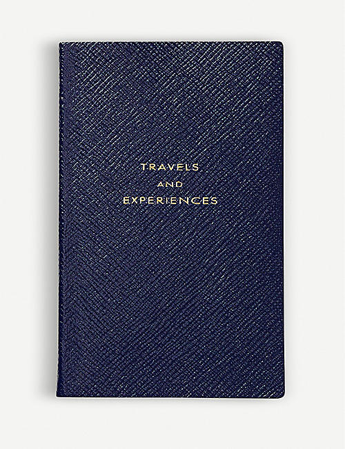 SMYTHSON Panama travels and Experiences leather notebook