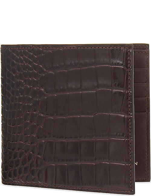 SMYTHSON Mara leather wallet