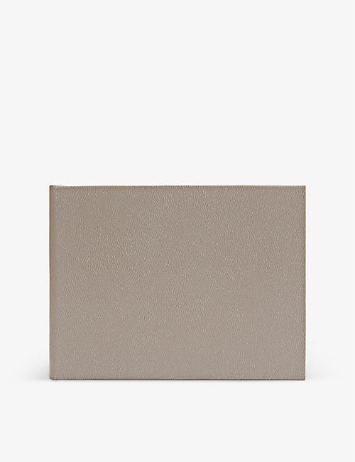 SMYTHSON: Small leather guest book