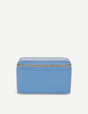 SMYTHSON Panama medium leather trinket case