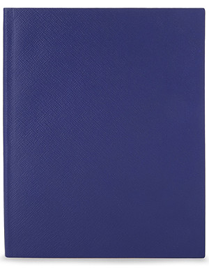 SMYTHSON Portobello leather notebook 25cm