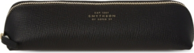 SMYTHSON Panama leather pencil case 20.5cm