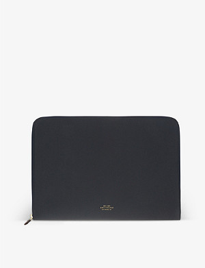"SMYTHSON Panama leather 13"" laptop case"