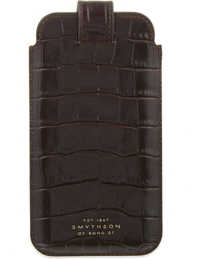 new product 2515a 377f0 SMYTHSON - Mara leather iPhone 6/6s/7 case | Selfridges.com