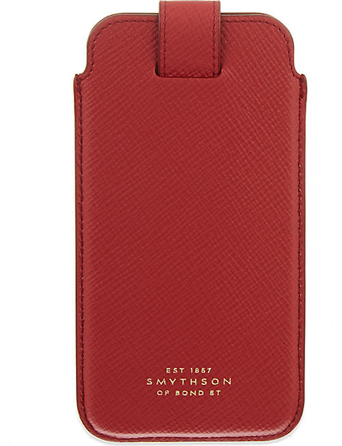 cheap for discount d8456 ceed8 SMYTHSON - Panama leather iPhone 6/6s/7 case | Selfridges.com
