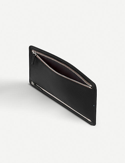 SMYTHSON Burlington leather currency case