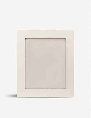 SMYTHSON Grosvenor leather photo frame 8x10""