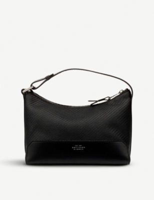SMYTHSON Greenwich lacquered cotton washbag