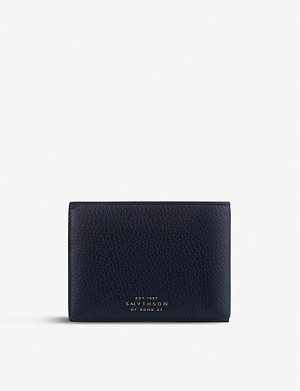SMYTHSON Burlington leather multi-currency wallet