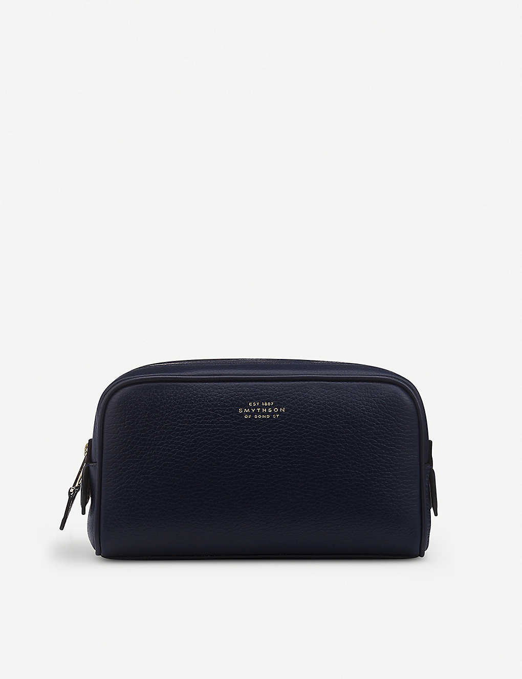 SMYTHSON: Burlington leather small washbag