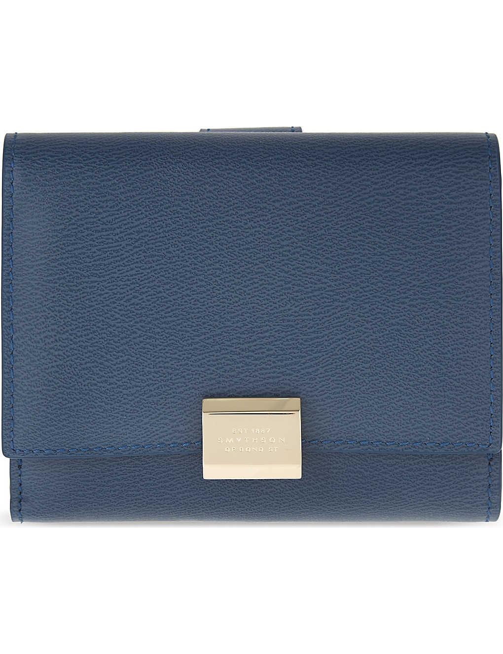 79e5041a159 SMYTHSON - Grosvenor leather purse   Selfridges.com