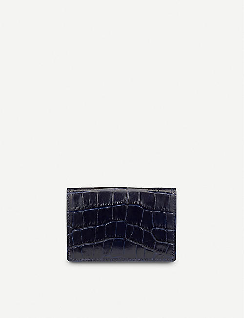 SMYTHSON Mara leather card case