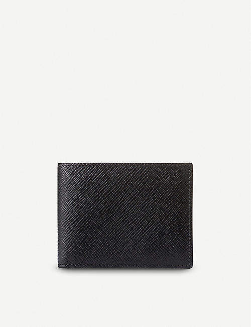 SMYTHSON: Panama multi currency leather wallet