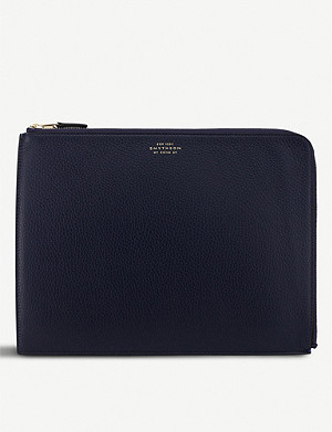 SMYTHSON Burlington 大号皮革手包