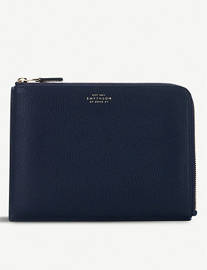 SMYTHSON Burlington 中等皮袋