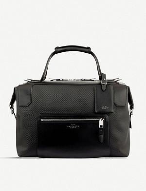 19a0c4cb2d8c PRADA - Nylon technical weekender bag   Selfridges.com