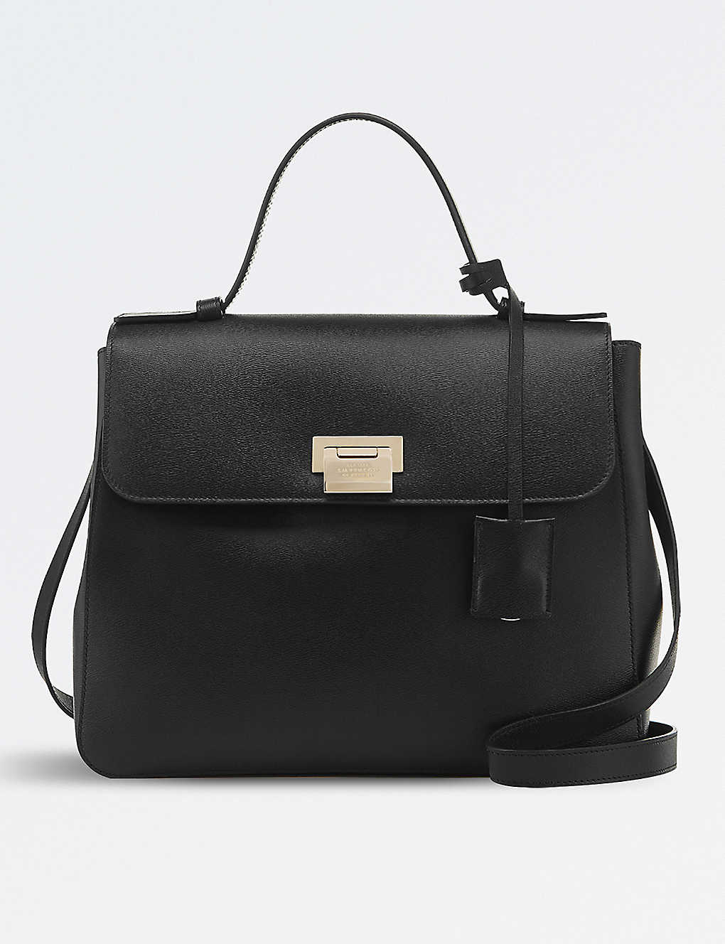9b12851b9a9 SMYTHSON - Grosvenor top handle leather bag   Selfridges.com