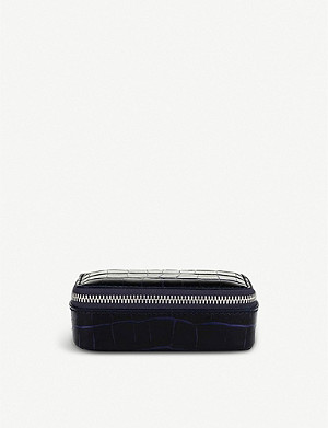 SMYTHSON Mara leather trinket case