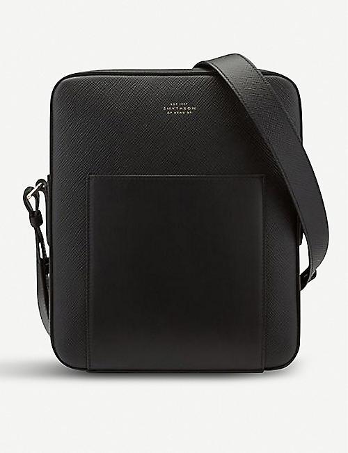 09b0057b3477 SMYTHSON Panama leather reporter bag