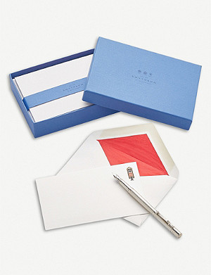 SMYTHSON Royal Guard correspondence cards box of 10