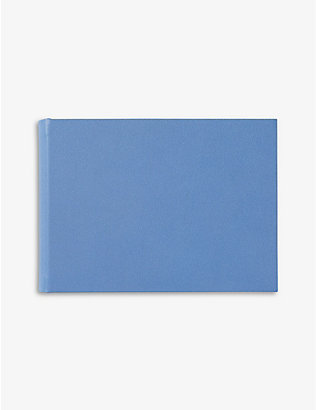 SMYTHSON: Hardbound small leather photo album