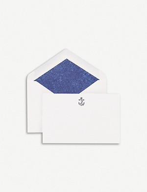 SMYTHSON Anchor correspondence cards pack of 10