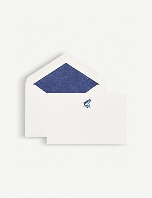SMYTHSON Trout correspondence cards pack of 10