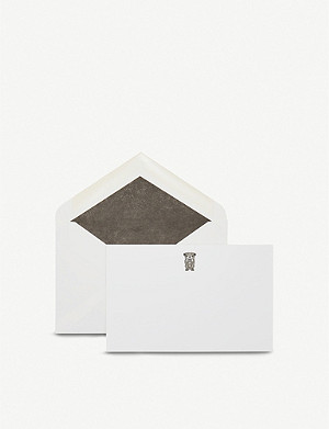 SMYTHSON Bulldog correspondence cards pack of 10