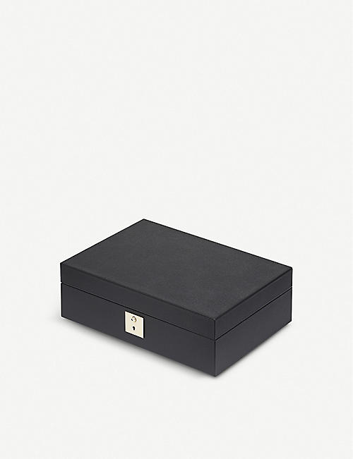 SMYTHSON Grosvenor leather Gentleman's accessory box