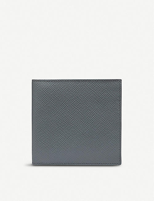 SMYTHSON Panama leather 8 card wallet